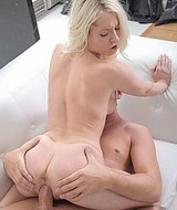 Great Blonde Babe Gets Her Pussy Fucked And Creamed - Picture 13